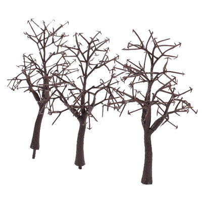 10pc Bare Trunk 12cm Model Trees Train Railway Building Winter Scenery HO OO