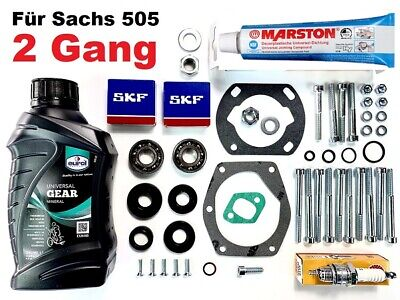 Motordichtsatz SKF Hercules Prima 3 + 5 Lager Sachs 505 Dichtung Curil Dichtring