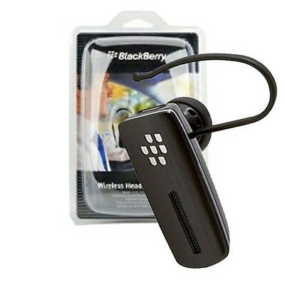 NEW Original Blackberry HS-500 HS500 Bluetooth Headset for Bold 9900 9930 Retail