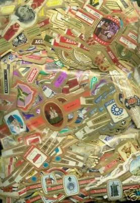 360 cigar bands - all from series - all different
