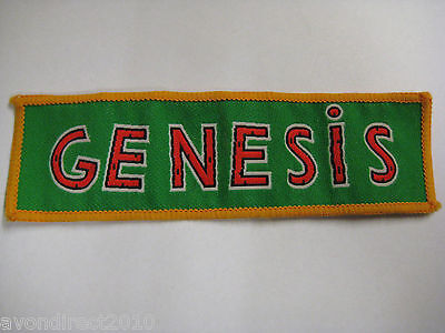 GENESIS DUKE - Vintage 1980's Sew On Cloth Patch NEW OLD STOCK