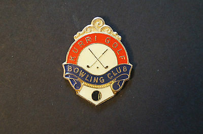 Collectable - Kurri Golf and Bowling Club - Members Badge.