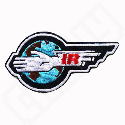 Thunderbirds IR Insignia Iron Sew On Embroidered Patch Badge Costume Fancy Dress