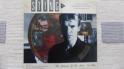 Sting - The Dream of The Blue Turtles (Very Rare/Mint) Pic Disc Album