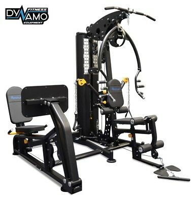 Home Gym Multi Station / Bearing Leg Press / Chest press & Steel weight stack