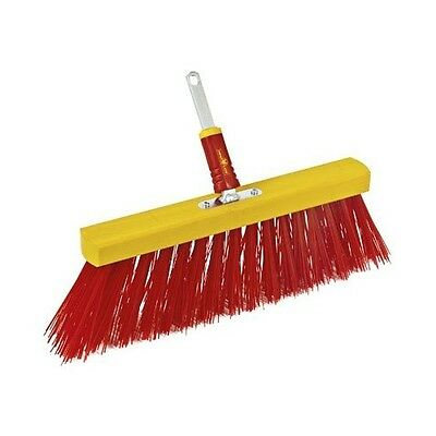 Wolf Garten Multi Change Street Brush Patio Path Deck Pond Brush 40cm #2E51