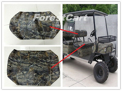 Realtree Camo Seat Covers for Front Bench Seat & Backrest,Bad Boy Buggies 616498