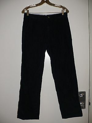 Tommy Hilfiger Big Boys Pants Slacks size 18 Corduroy Navy Blue Dress Pants warm