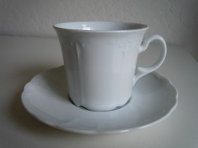 Seltmann Julia Flat Cup and Saucer Set