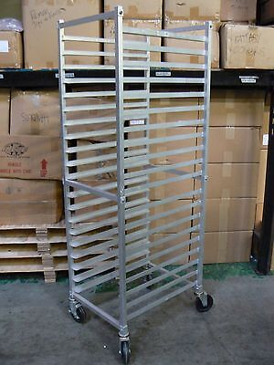 Allstrong Bakers Heavy Duty Sheet Bun Rack 20 Tier W/ Lock Wheels #Aar-202