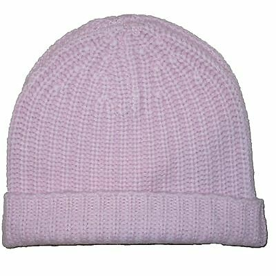 11a077027f12d Nwt MAGASCHONI Brand New Cashmere Knit Womens Pink Winter Warm Ski Cap One  Size