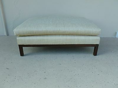 Large 60's Harvey Probber Rectangular Ottoman Or Poof