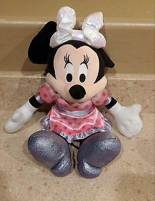 Disney Minnie Mouse Sound and Light Valentines Plush Doll