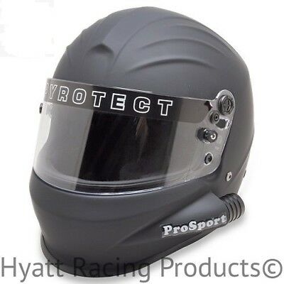 Pyrotect Pro Sport Side Forced Air Racing Helmet SA2015 - All Sizes (Free Bag)