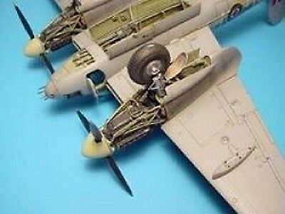 Aires Hobby Models 4208 - Mosquito Wheel Bay - 1/48 Resin Kit