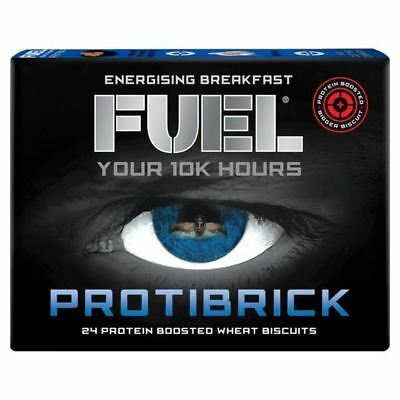 Fuel Protibrick 24 Protien Boosted Wheat Biscuits 24 x 20g