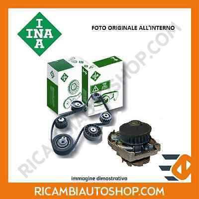 Kit Distribuzione + Pompa Acqua Ina Vw Golf Plus (5M1 521) 1.6 Bifuel Kw:75 2009
