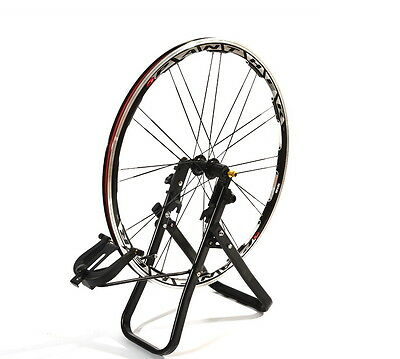 MTB Road Bike Wheel Truing Stand Platform Bicycle Cycling Set up Mechanic Tool