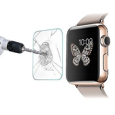 Scratch Shatter Proof Tempered Glass Screen Protector Apple iWatch 38mm Uk Stock