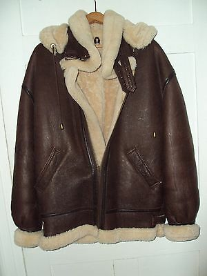 Shearling B-3 Flight Jacket - Men's Small
