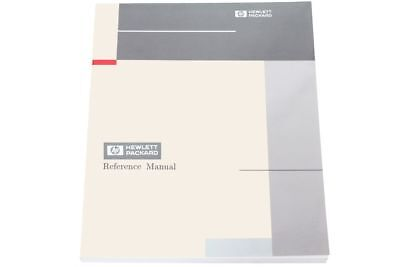 Hewlett Packard 74210-90929 HP Design Capture System DCS Reference Manual