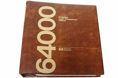 Hewlett Packard HP 64000 Logic Development System Pascal Reference Manual