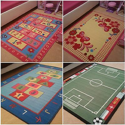Kids Children Nonslip New Rugs Girls Boys Bedroom Soft Floor Mat Playmat Carpets