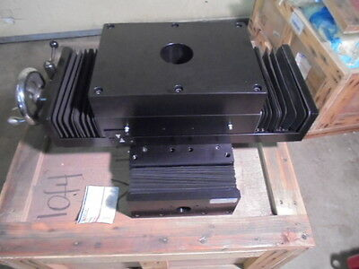 LinTech X/Y Positioning Table Workholding Cross Slide System- NOS, Custom made