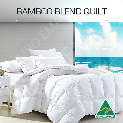 Aus Made 200GSM Bamboo Blend Summer Weight Summer Weight Cover Quilt-ALL SIZE