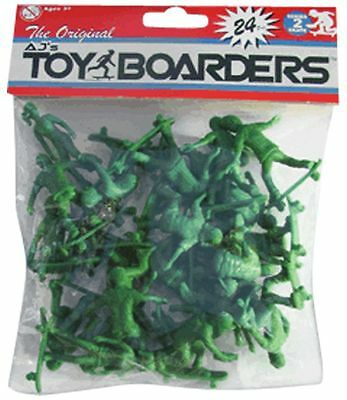 The Original AJs TOY BOARDERS 24 PK Toy Skateboarders SERIES 2