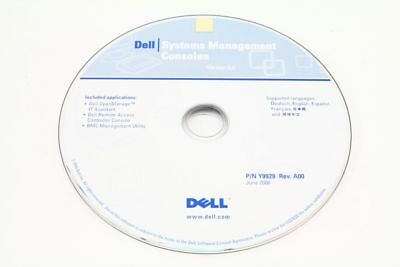Dell P/N Y9929 Rev.A00 System Management Consoles CD Version 5.0 Multilingual