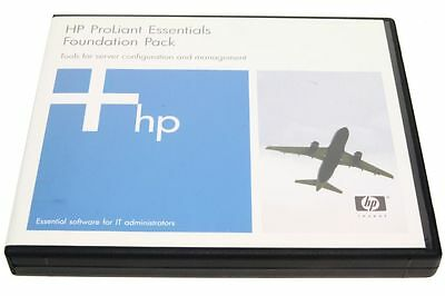 HP ProLiant Essentials Foundation Pack Server Configuration Tools P/N 301972-B13
