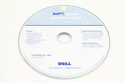 Dell P/N Hu534 Openmanage Systems Console and Agent Version 5.3 Rev.A00
