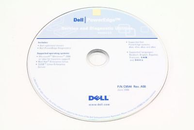 Dell P/N C9544 Rev.A00 Poweredge Service and Diagnostic Utilities Version 5.0