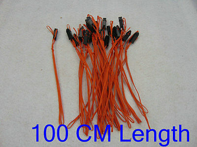 Salvo fire 40pcs 100CM Fireworks Firing System Safety Igniter Electronic Wire