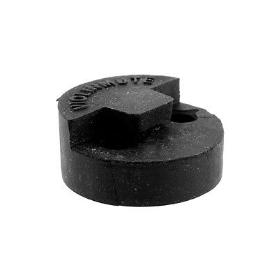 Rubber Acoustic Violin Mute Black Old Tourte Style For Student Practice