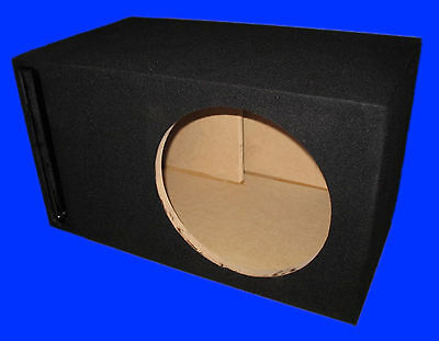 "12"" Alpine Type R Ported Black Subwoofer Sub Enclosure Box"