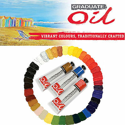Daler Rowney Graduate Oil 200ml Tube Paint Artist For Winton