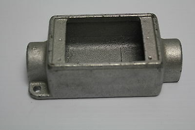 "Crouse-Hinds FSC1 1/2"" Single Gang Cast Device Box Condulet New"