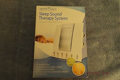 Sound Oasis S 550 05 Therapy System White noise soothing sleep Machine