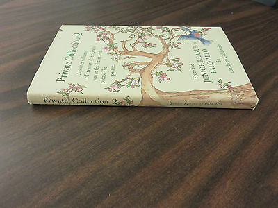 Private Collection 2 From the Junior League of Palo Alto HC 1984 FREE SHIP