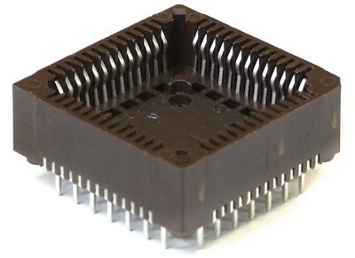 PRECI-DIP Durtal PLCC-52 Integrated Circuit Carrier Chip Socket / IC Socket Tht