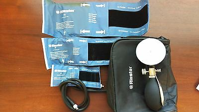 Riester Babyphon Sphygmomanometer with Cuffs (3 Sizes) and Soft Case
