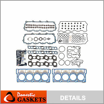 Fits 03-10 Ford Super Duty 6.0L Power Stroke Diesel Turbo MLS Head Gasket Set