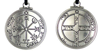 Solomon Seal Pendant Talisman Pentacle of Jupiter kabbalah Wiccan Jewelry 1 1/2""