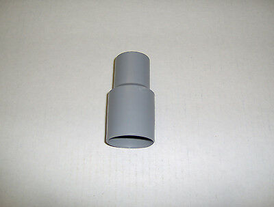 "Swimming Pool Vacuum Hose Replacement Cuff 1 1/4"" New Threaded Gray"