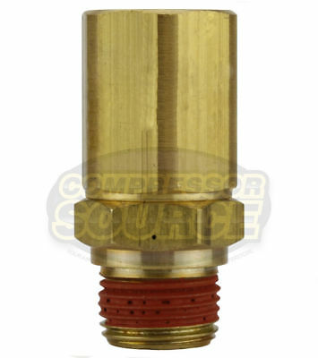 "PA-12 Load Genie Brass Air Compressor 3/8"" Self Unloading Check Valve Unloader"