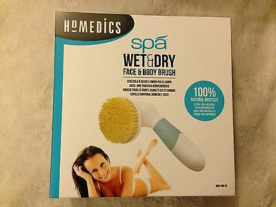 Homedics Spa Electric Wet & Dry Face & Body Brush