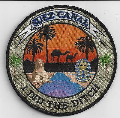 Suez Canal - I DID THE DITCH - BC Patch Cat No. c7152 (copyrighted)