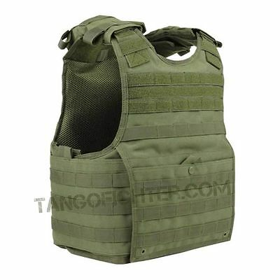 CONDOR XPC MOLLE Exo Armor Plate Carrier Vest Chest Rig SPEAR/BALC size S/M OD